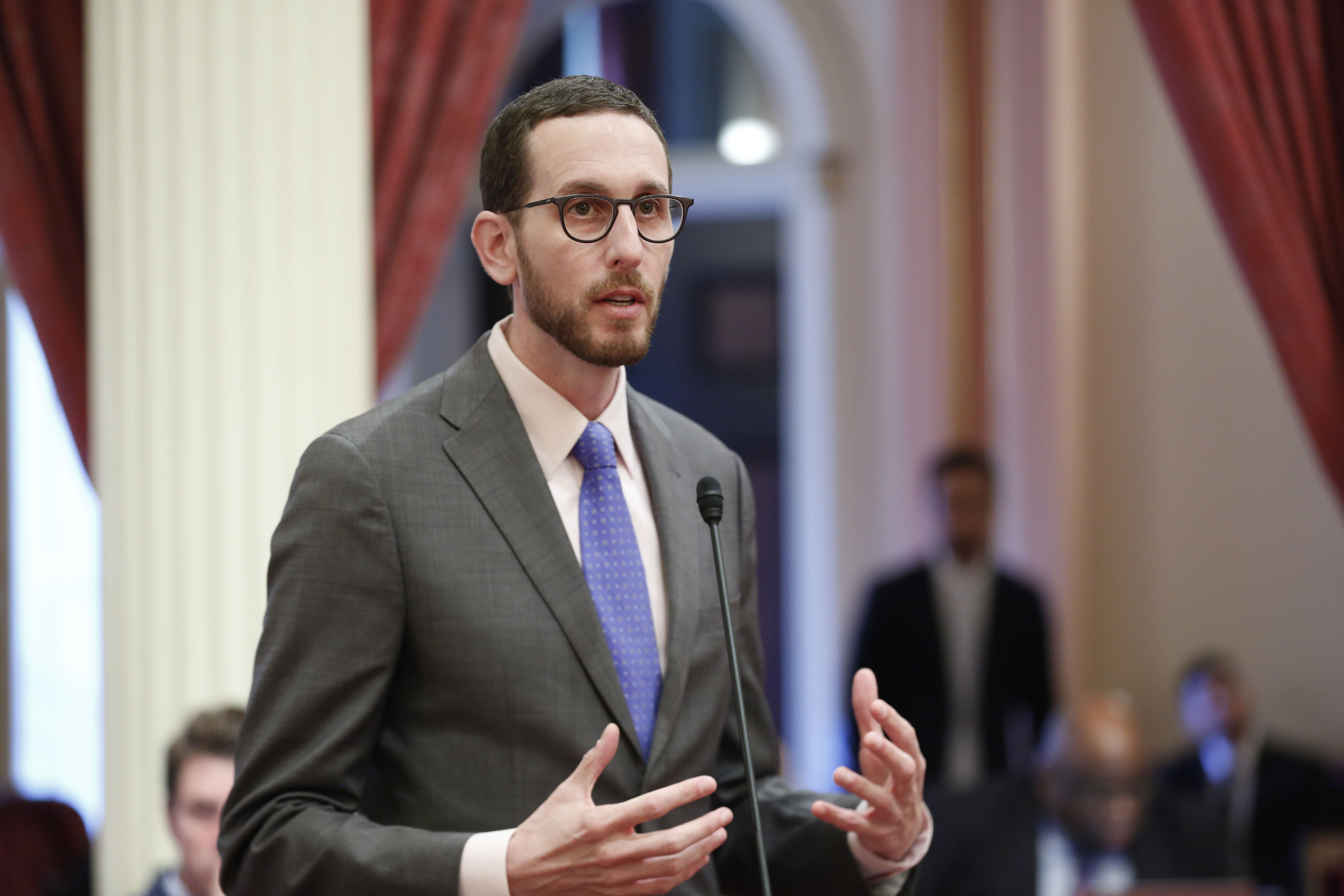 Senator Wiener on the Senate Floor